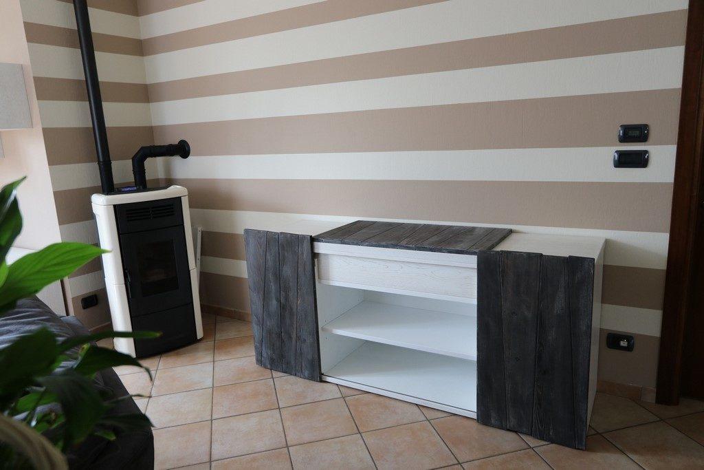 Credenza Moderna Su Misura : Cucine in legno massello mobili tavoli credenze su misura sicilia